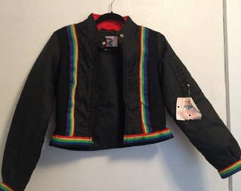 Vintage 1970s Profile Sports corp kids winter jacket