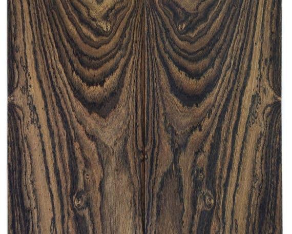 bocote jewelry bocote wood veneer sheets 30x17cm 2 sheets grade aa cs2boc3x2