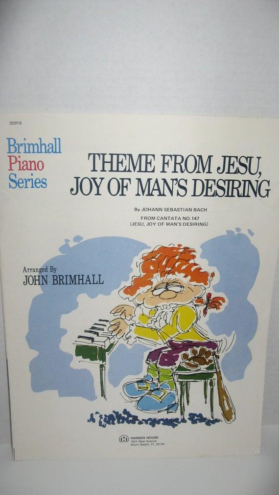 2 copies of Theme from Jesu Joy of Man's Desiring