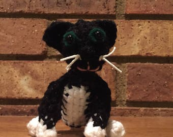 Henry the Cat, Add On for Look Alike Dolls, Tiny Look Alike Cat Doll, Stuffed Cat Toy to Match Your Cat