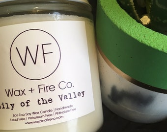Lily of the Valley Soy Candle