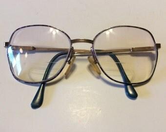 Vintage Women's JG Hook Eyeglasses Italy Frames