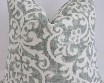 Salisbury Mint Ivory Pillow covers- Mint Pillow Covers- Mint Ivory Decorative Pillow Covers- Chair cushion Pillows- Toss Pillows - Pillows