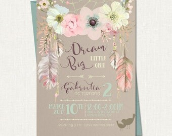 Birthday Invitation // Party Invitation // Birthday Party Invite - Printable Template