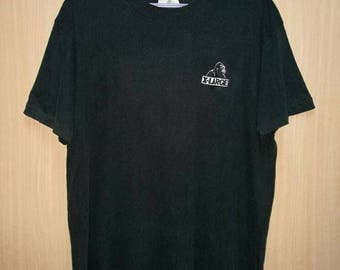 Rare!! Vintage X-Large Spellout Embroidery T-shirt Size M