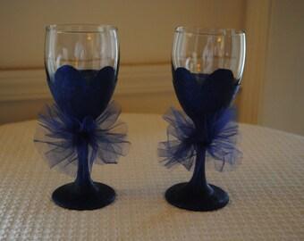 Bridesmaids Wine Glasses