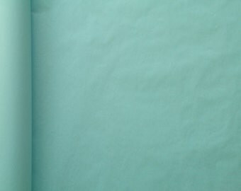 Lot of 5 papers of Pastel blue silk size 50 cm * 75 cm