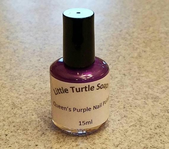 Queen's Purple Nail Polish
