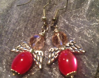 Handmade Angel earrings