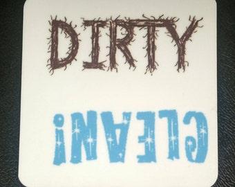 Dishwasher decal etsy uk for Dishwasher safe vinyl lettering