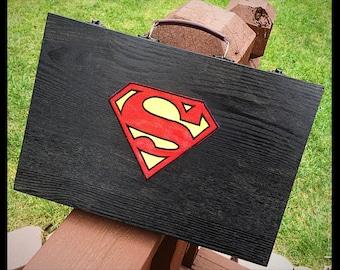 Superman art case