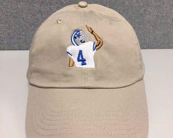 Cowboys Dak Prescott dad hat