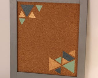 decorative Cork Bulletin Board