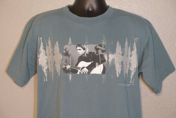 1997 Kurt Cobain - The End of Music Giant Concert Vintage T-Shirt