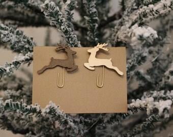 Deer paperclips