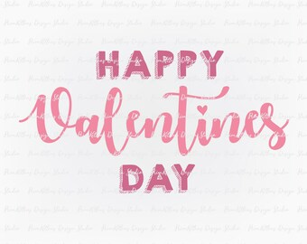 Valentines Day - SVG PNG JPG Digital Download Clip Art File - Happy Valentines Day