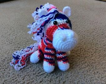Crochet Toy Horse