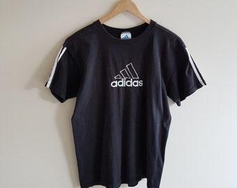 Vintage adidas t shirt, 90s adidas t