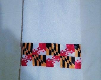 Maryland Trim Hand Towel