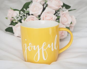 Joyful Mug- Sunny Yellow
