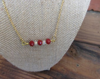 1024 Short goldfilled dainty necklace