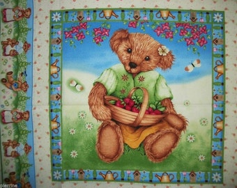 Fabric patchwork/decoration 1 thumbnail TEDDY I