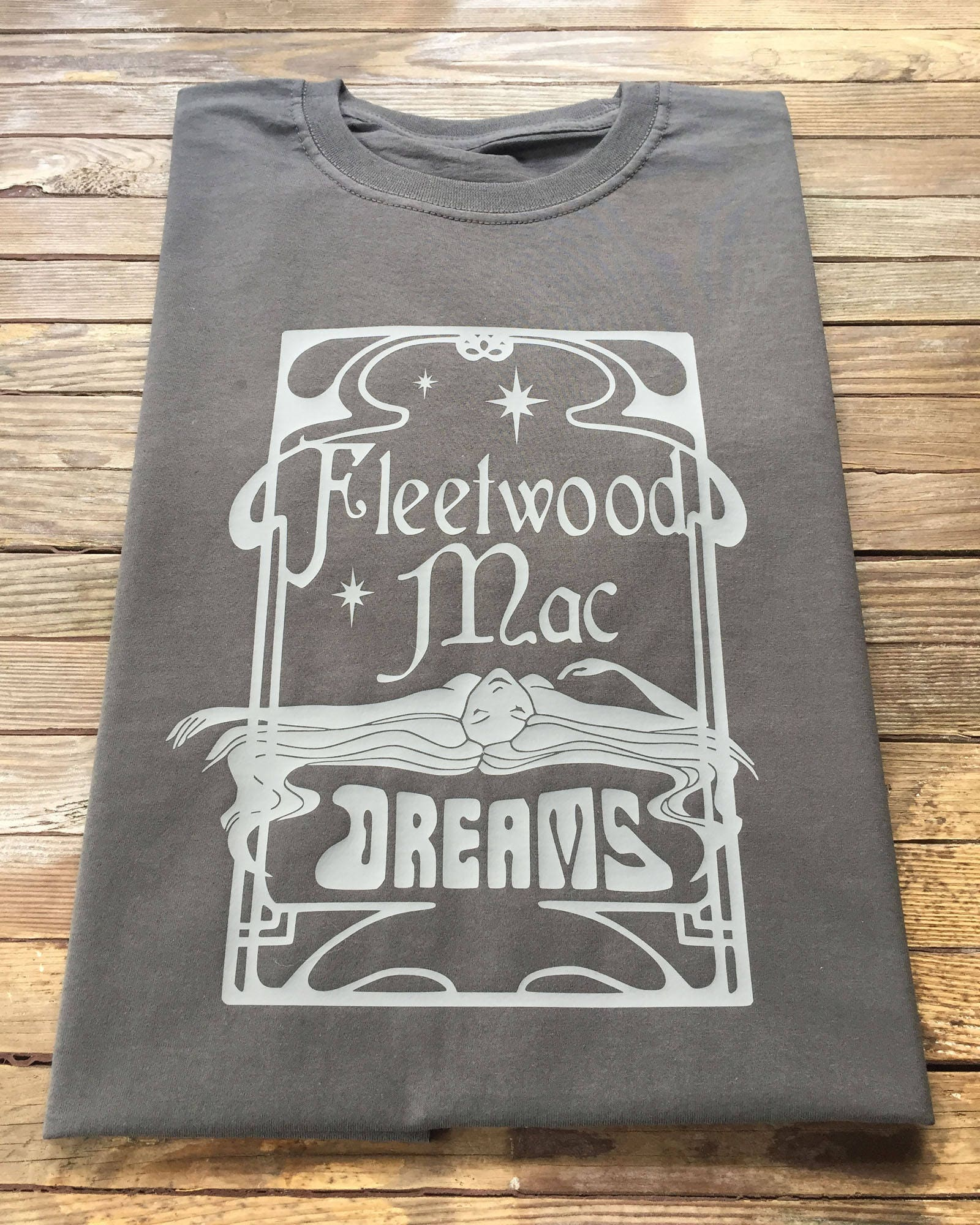 Design t shirt on mac - Fleetwood Mac T Shirt Graphic Art Nouveau Design Dreams Stevie Nicks Rumours