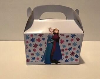 Frozen theme mini gable box