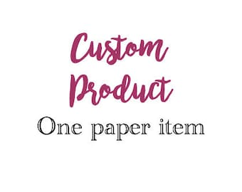 Instant Download Custom Item of your Choice!