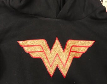 Girls Wonder Woman Hoodie