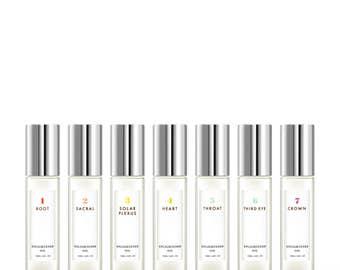 Chakra Perfume Oil Roll-on Set