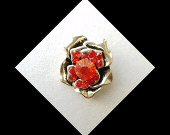 Snap Charm Button, Red snap button charms for snap jewelry. Fits 20mm Ginger snaps, Noosa, Magnolia & Vine and others