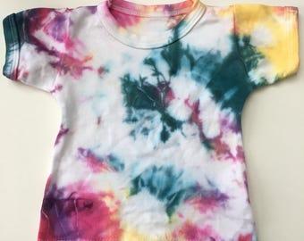 Tie dye toddler tshirt 6-12 months