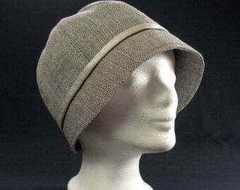 elegant 20s Cloche Hat-twenties - Cloche-Hat-stitched - line optics