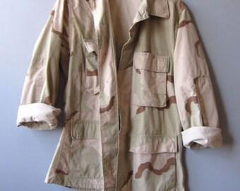 10% Off Vintage Desert Camo Army Jacket