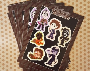 Terrifyingly Adorable - Horror Stickers: Batch One
