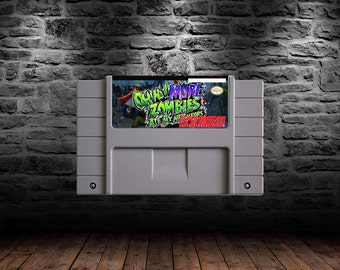 Oh No! More Zombies Ate My Neighbors - Zombie Bashing Excitement and Adventure - SNES - Unofficial Sequel