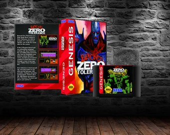 Beyond Zero Tolerance - First-person Shooter for your Genesis - GEN - FPS
