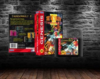 Thunderbolt 2 - Vertical shooter for the ages - GEN - MegaDrive
