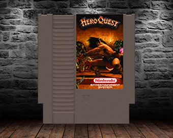 Hero Quest - Unreleased - Adapted from the hit board game - NES - Quest for Glory