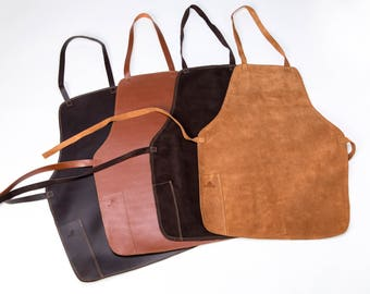 Barbecue Smooth Leather Apron