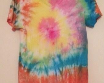 Tye Dye T Shirt Women Small 34-36 USA Made