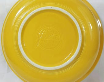 "Vintage Yellow Fiesta 8 1/2"" Nappy Bowl"