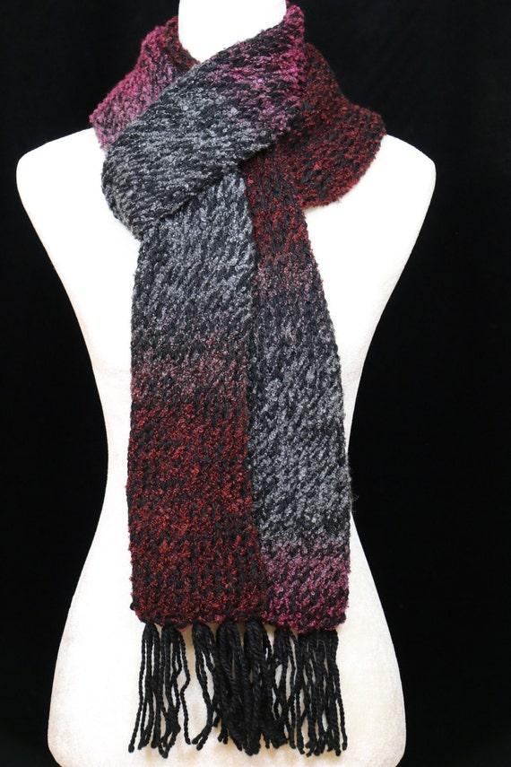 Handmade cozy warm, lightweight, scarf