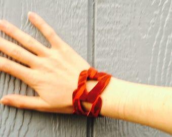Lamb Leather Fury Bracelet