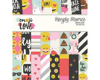 "Emoji Love 6X8"" Paper Pad - Carpe Diem"