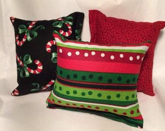 3 - Holiday catnip pillows