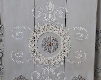 Shabby Ornaments Decoration panel