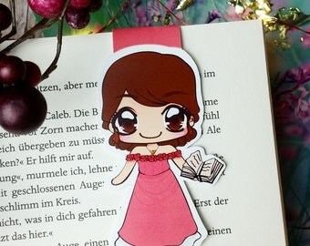 "Magnetic bookmarks ""Tessa"" - inspired by Shadowhunter the infernal devices"