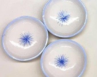 Set of 3 star bowls